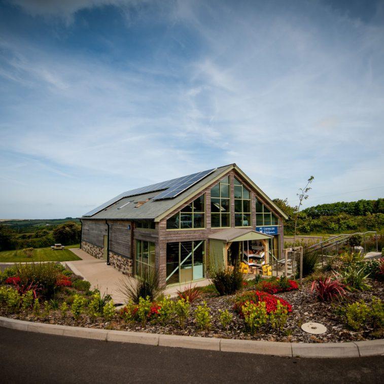 Etherington's Farm Shop in Cornwall.