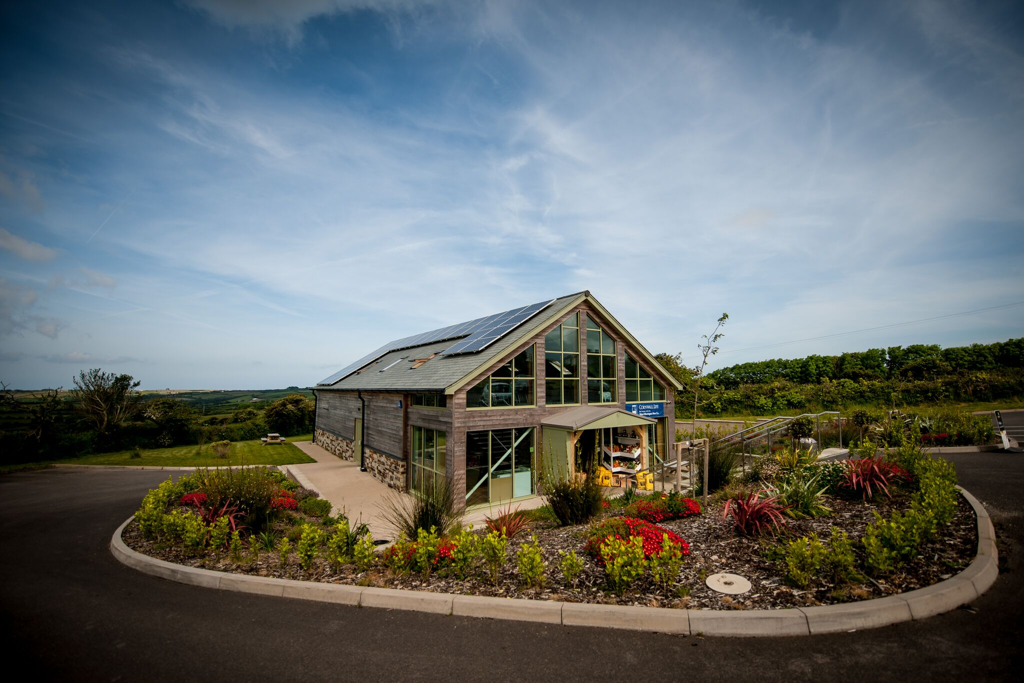 Etherington's Farm Shop in Cornwall.