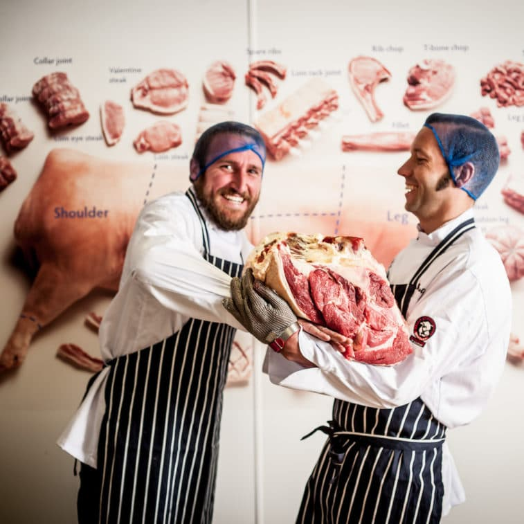 Butchery courses in Cornwall - Etherington's Butchery School