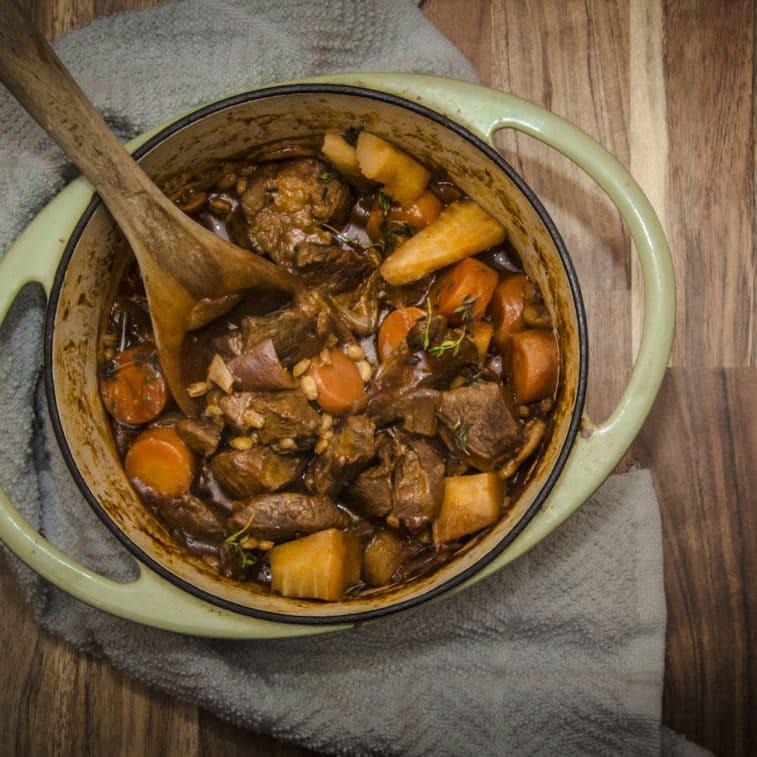 Etherington's Beef Shin Stew recipe